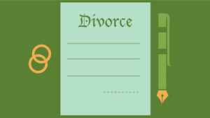 selling a house during divorce in Houston