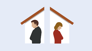 selling a house during divorce in Northwest Arkansas